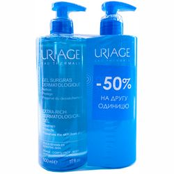 Фото Набор Uriage (Gel Dermatological/2X500ml)
