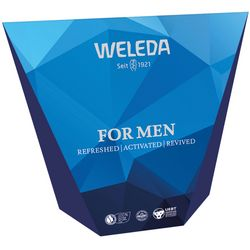 Набор для мужчин Weleda For Men (deo/roll-on/50ml + f/cr/30ml + gel/200ml) фото